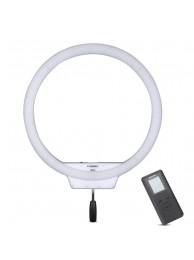 Lampa Circulara YongNuo YN608 PRO, 608 LED-uri, Temperatura de Culoare 3200 - 5500K, CRI 95